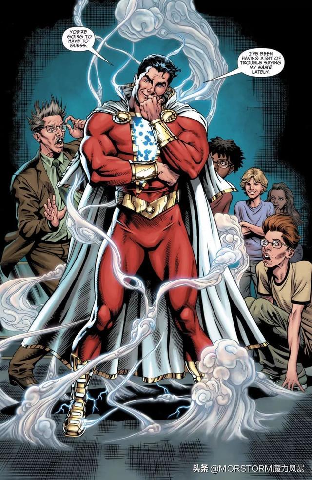 作為DC的「驚奇隊長」,雷霆沙贊為何淪落為搞笑諧星? - 每日頭條