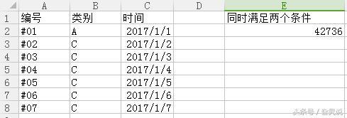 EXCEL在單元格內顯示同時滿足兩個條件的數據 - 每日頭條