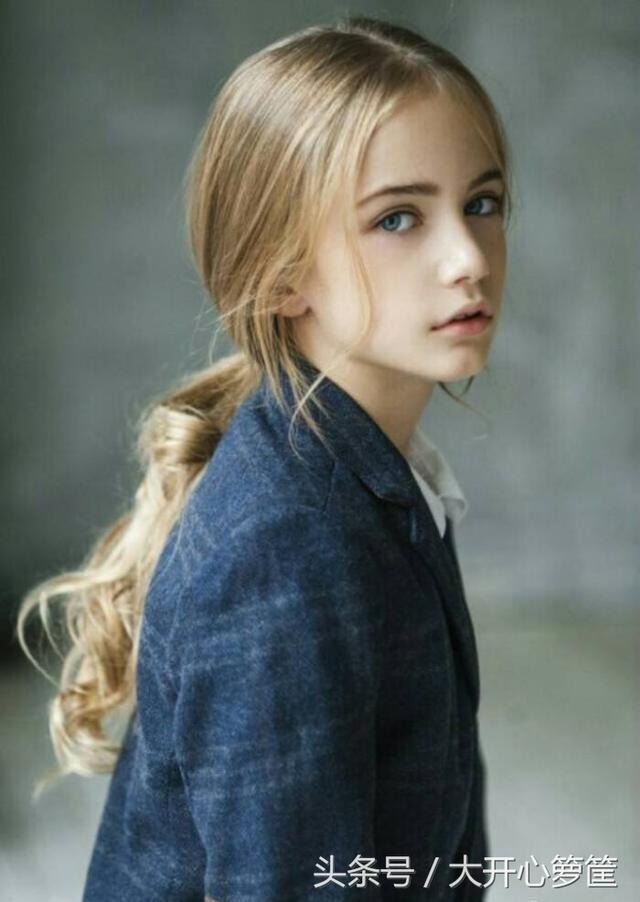 俄羅斯最美小女模:與生俱來的氣質美不可言 - 每日頭條