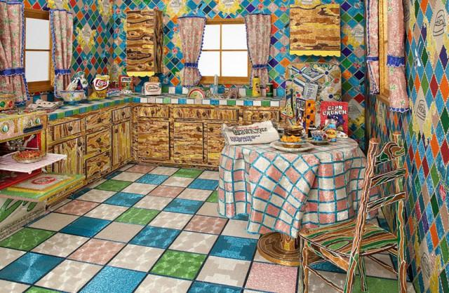 backyard kitchens kraus kitchen sink 花了5年才完工的厨房和后院 近点看 你会竖起拇指 每日头条