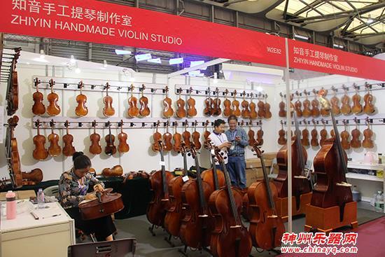 北京知音手工提琴製作室亮相上海樂器展 產品獲得中外友人青睞 - 每日頭條