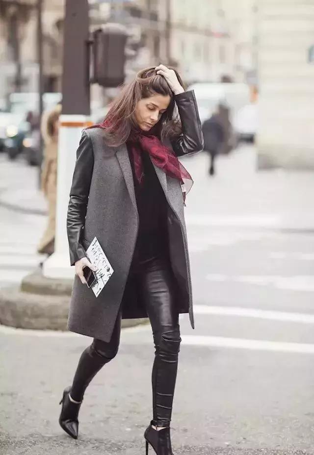 大衣+圍巾,冬天應該要這麼穿,原來以前都穿錯了 - 每日頭條