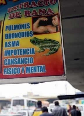 奇葩飲料:秘魯流行「青蛙汁」,據說可以提高「男性功能」受追捧 - 每日頭條