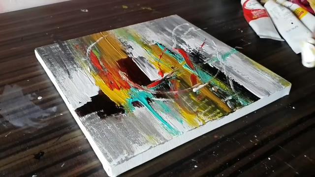 手工繪畫教程,以刺激學生創作出屬於自己底心深處的抽象作品。以FLASH發展出抽象畫布,藉由抽象的線條作為激發學生創意的導火線,難度2顆星(圖解) - 每日頭條