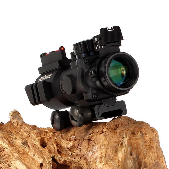全息4x32定倍海螺光學瞄準鏡實拍! - 每日頭條