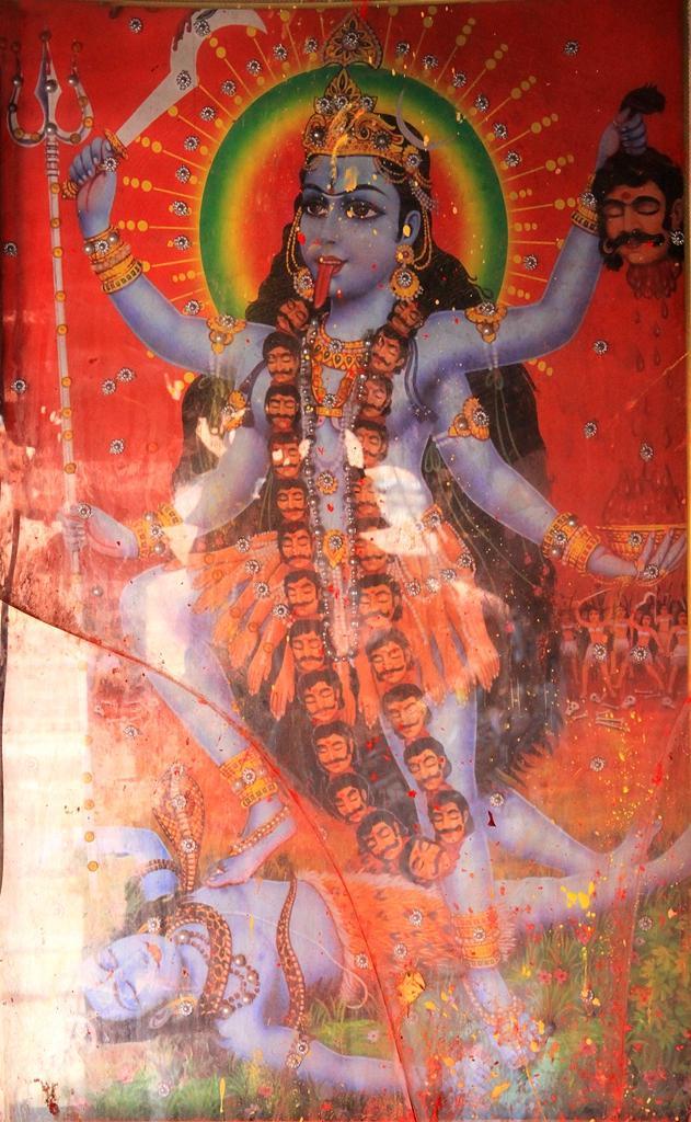 加爾各答,印度教性力派的祭禮 - 每日頭條