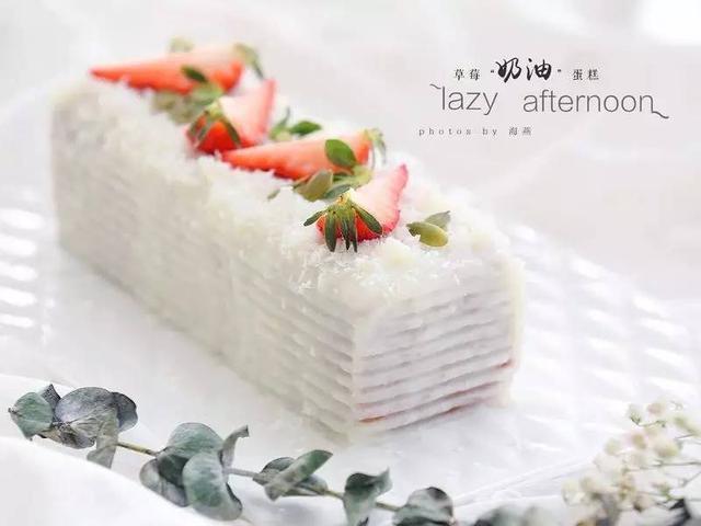 優選配方│低熱量的新點子:草莓「仿奶油」蛋糕 - 每日頭條