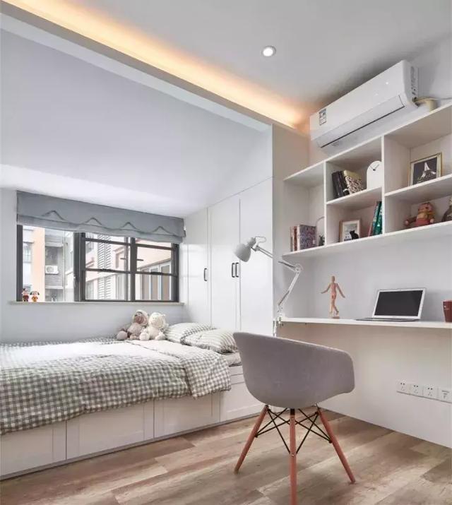 不常住的房間怎麼設計?25個榻榻米+書桌的設計案例告訴你…… - 每日頭條