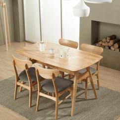 Chairs For Kitchen Table Hardware 15款適合小戶型的簡約風餐桌椅組合推薦 每日頭條 林通田園風白色實木餐桌椅子組合套裝小戶型長方形簡約現代餐枱飯桌咖啡桌