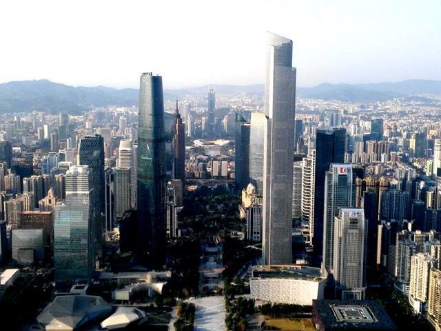 中國摩天樓之最——廣州,產值第一的中國CBD - 每日頭條