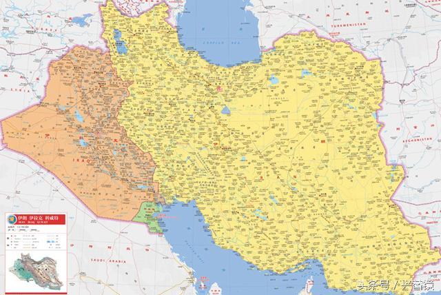 1980年,薩達姆40萬大軍進攻伊朗,為何他能底氣十足? - 每日頭條