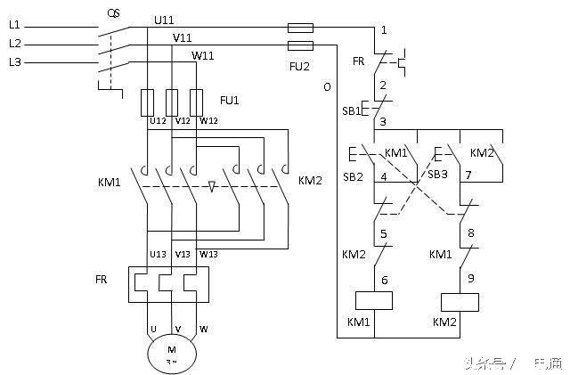 電工史上最詳解:電機正反轉 - 每日頭條