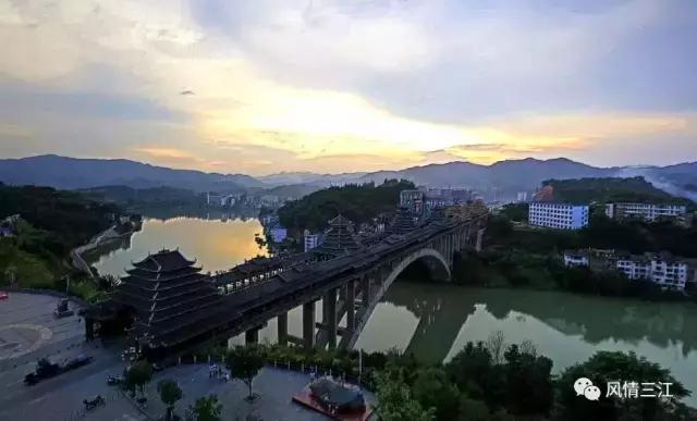 三江的這座風雨橋全世界都曉得了,美國的CNN評它為最美大橋! - 每日頭條