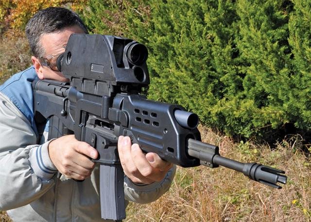 韓國一槍結合了榴彈與子彈 - 每日頭條