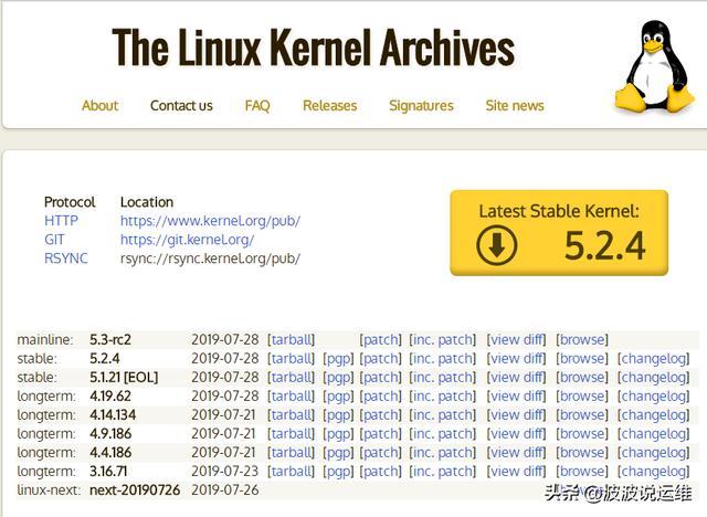 Linux 內核版本那麼多,如何正確選擇其中的穩定版本? - 每日頭條