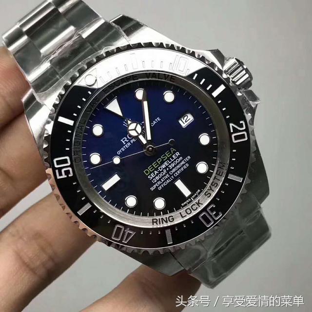 N廠V7 勞力士Rolex 潛航者系列 漸變鬼王 超級復刻表3135機芯 - 每日頭條