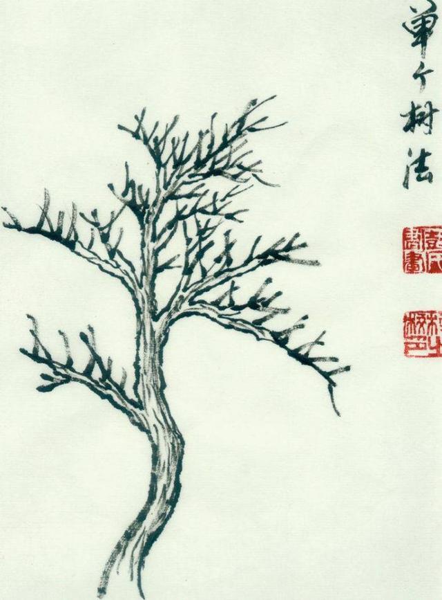 中國畫如何畫松樹、叢樹、柳樹、竹林。中國畫樹的畫法大全 - 每日頭條