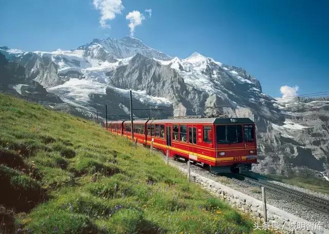關注丨瑞士少女峰鐵路。一段貫穿百年傳奇 - 每日頭條
