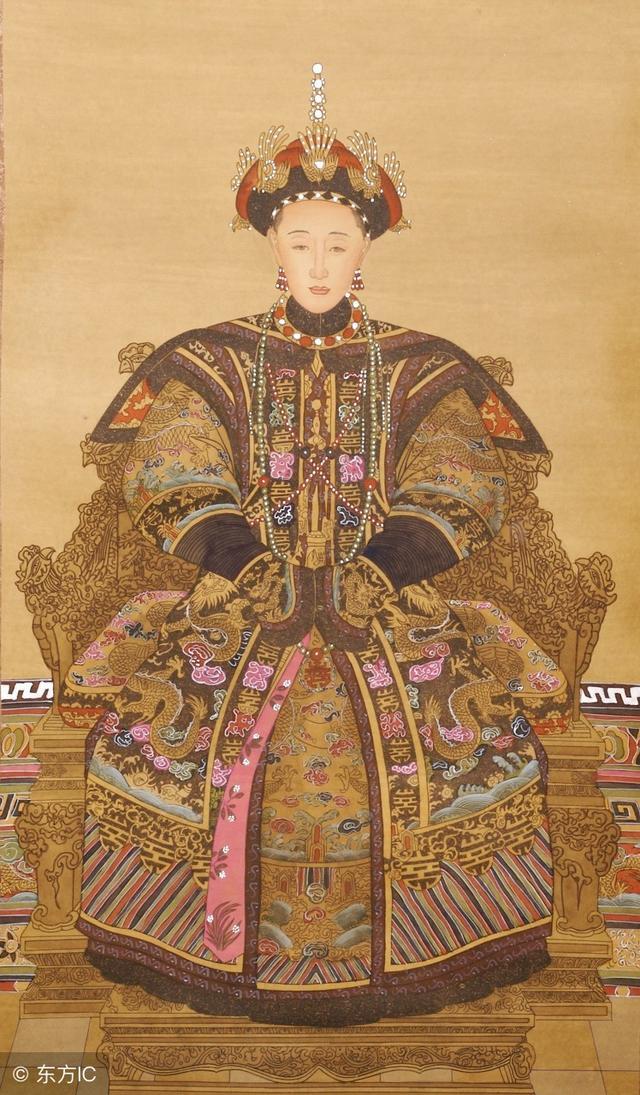 盤點真實的清朝皇帝的皇后畫像,原來富察容音這麼美 - 每日頭條