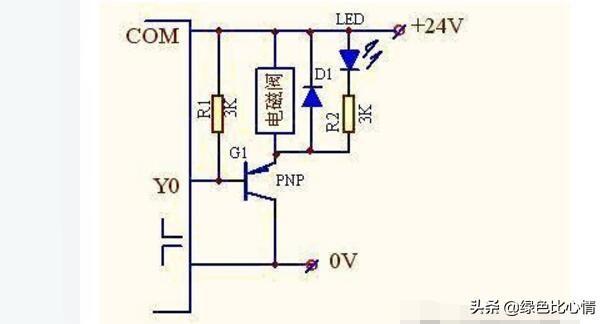 plc通過繼電器控制電磁閥的接線圖 - 每日頭條
