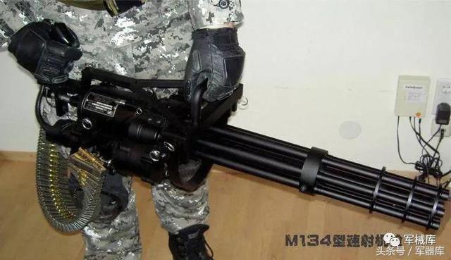 機槍——M134型速射機槍 - 每日頭條