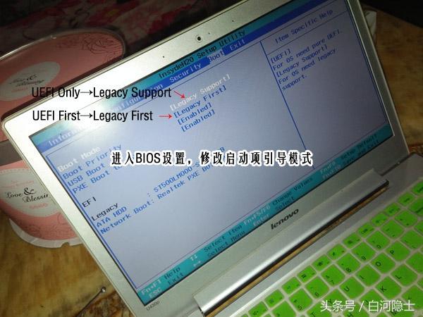 給預裝Windows8系統的筆記本安裝Windows7系統 - 每日頭條