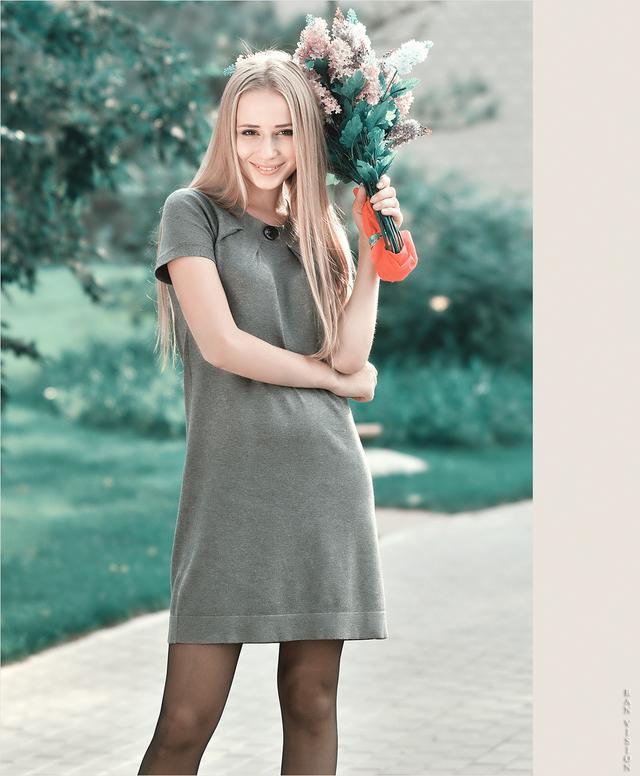 依琳娜—烏克蘭金髮美女 - 每日頭條