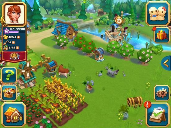 今日手游:創建你的農場帝國《農場物語》 - 每日頭條