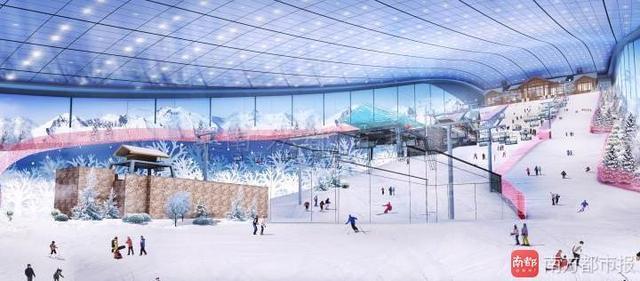 先睹為快!全球最大室內滑雪場6月底開業啦 - 每日頭條
