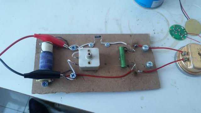自製礦石收音機 2ap9檢波 - 每日頭條