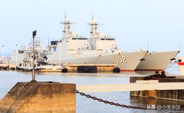 052C驅逐艦:曾經是中國海軍的六大金剛,如今淪落為「二流戰艦」 - 每日頭條