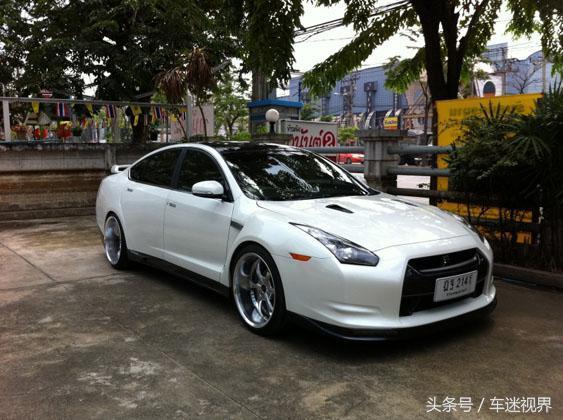 改裝神將Nissan Teana變化GTR讓你分不清真假! - 每日頭條