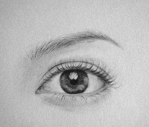 怎樣畫眼睛才寫實逼真,其實就是這麼簡單! - 每日頭條