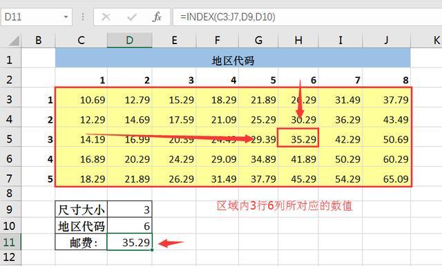 INDEX函數與MATCH函數的使用方法圖解 - 每日頭條