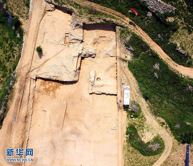 陝西神木石峁遺址發現「皇城大道」 - 每日頭條