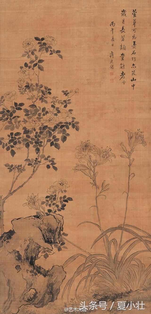 清代著名畫家蔣廷錫國畫作品 - 每日頭條