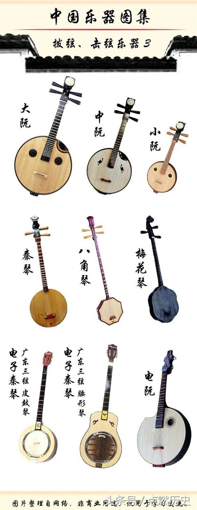 中國傳統樂器圖集,看看你認識幾種 - 每日頭條