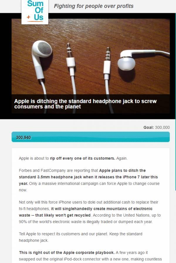 iPhone 7要去掉這個功能。惹怒30萬用戶! - 每日頭條