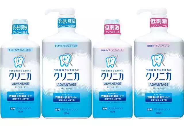 5款日本漱口水,給你帶來清新口氣 - 每日頭條