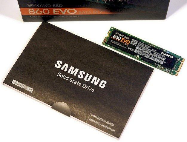 三星SSD 860 EVO M.2 SATA評論:快速。實惠的固態 - 每日頭條