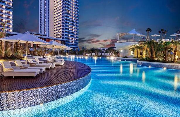 網紅強烈推薦檀悅都喜天麗度假酒店1299!超贊的無邊際泳池和沙灘 - 每日頭條