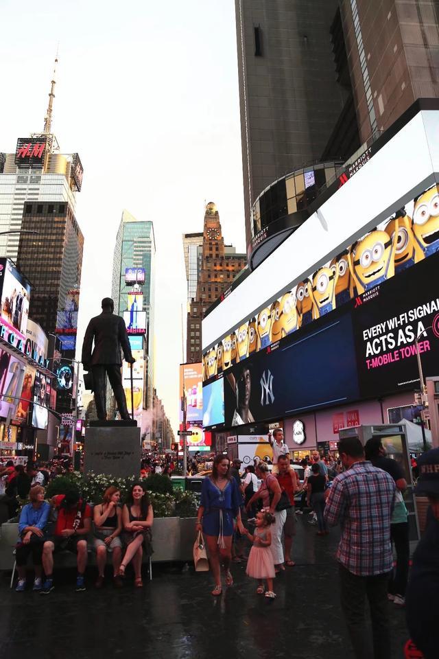 走訪美國紐約時代廣場 - 每日頭條