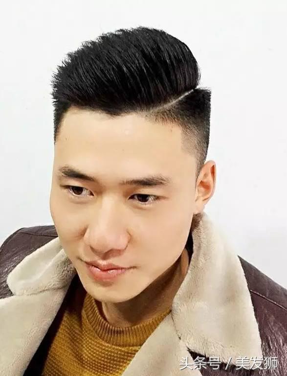 2018流行「一道口」型男髮型 - 每日頭條