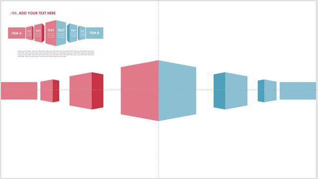 577.PPT技巧:如何快速繪製透視立體對比圖形表達? - 每日頭條