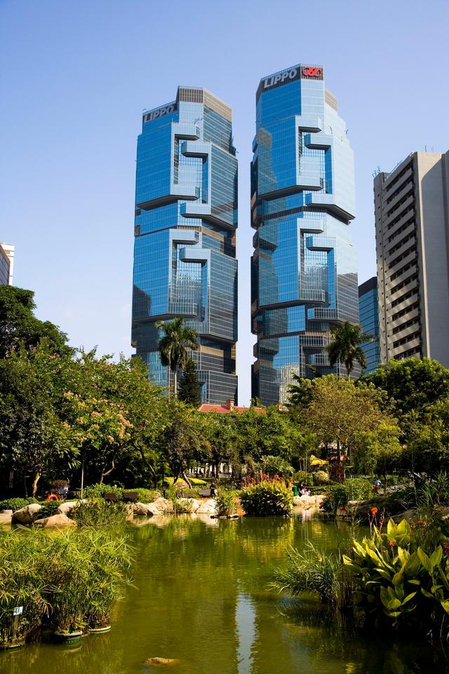 風景拍攝:香港力寶中心大廈風景 - 每日頭條