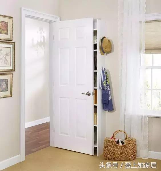 聰明的女人都會在門後放柜子。太厲害了! - 每日頭條