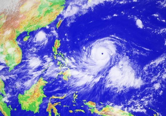 第22號颱風山竹實時路徑將置換「風眼」超過17級 - 每日頭條