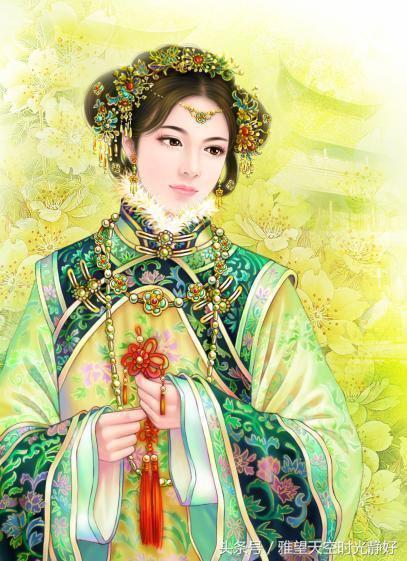 傾世之戀 令皇太極為之瘋狂的女人——海蘭珠 - 每日頭條