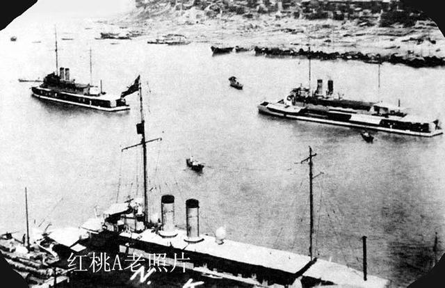 列強軍艦入侵重慶 - 每日頭條