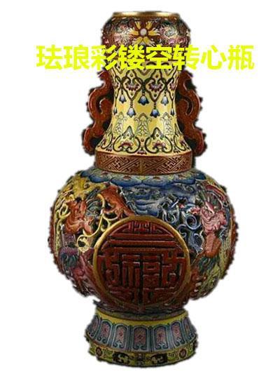 琺瑯彩-轉心瓶-粉彩-鏤空瓶(康雍乾)時期的頂峰藝術 - 每日頭條